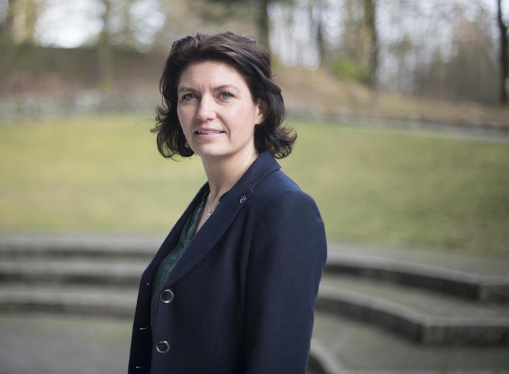 Statssekretær Inger Klippen  Foto: Hamremoen