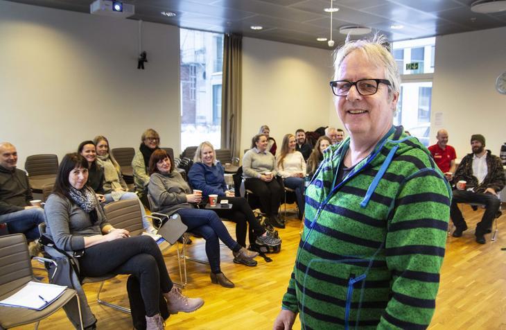 Tor Sæter har ansvar for møtene til cannabisnettverket,