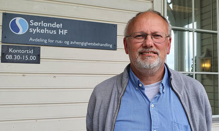 John-Kåre Vederhus, forsker ved ARA, Sørlandet sykehus