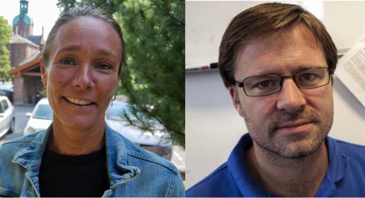 Camilla Birkevold og Christian Ohldieck
