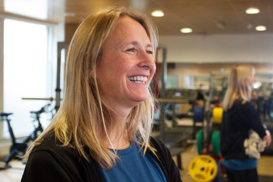 Forsker Grete Flemmen ved St. Olavs hospital
