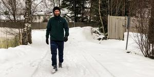 Sosialpedagog Steffen Sandvær ved Huseby ungdomsskole i Trondheim