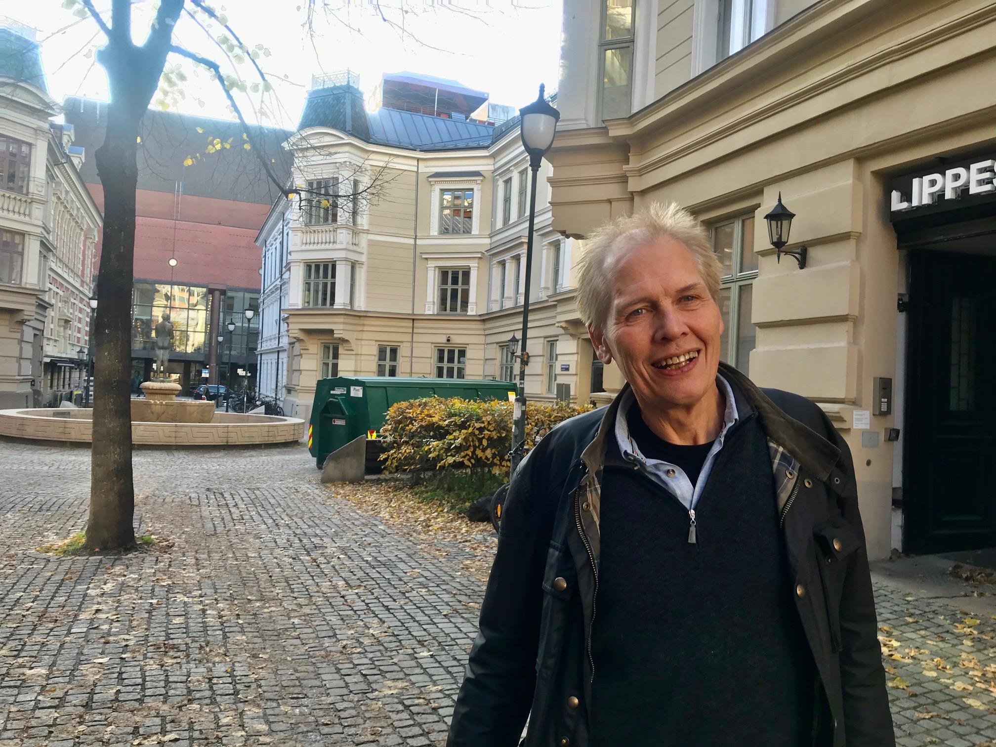 Johan Lothe, daglig leder i Wayback